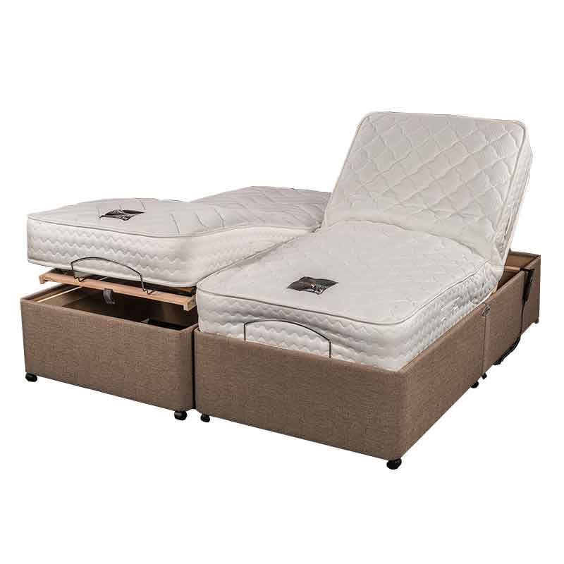 5 39 0 king size adjusta memory adjustable bed sussex beds. Black Bedroom Furniture Sets. Home Design Ideas