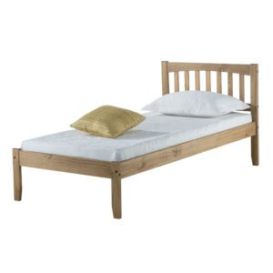 "Sussex Beds - 3'0"" Bury Pine Bed Frame"