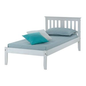 "Sussex Beds - 3'0"" Ewhurst White Washed Bedstead"