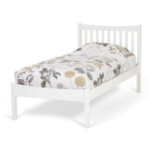"""Sussex Beds - 3'0"""" Single Selborne White Bedstead"""