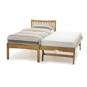 "Sussex Beds - 3'0"" Alpine Honey Oak Guest Bed"