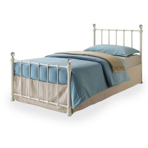"3'0"" Crystal Cream Bedstead"