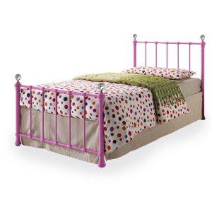 "3'0"" Crystal Pink Bedstead"