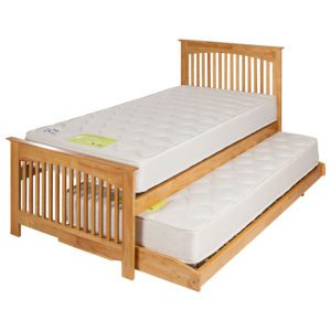 "Sussex Beds - 3'0"" Fairlight Oak Guest Bed Frames"