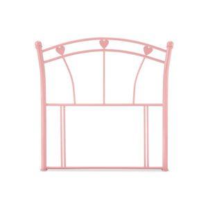 """Sussex Beds - 3'0"""" Heart Pink Gloss Headboard"""
