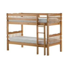 "Sussex Beds - 3'0"" Kansas Pine Bunk Bed"