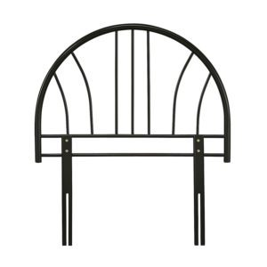 """Sussex Beds - 3'0"""" Lacy Black Headboard"""