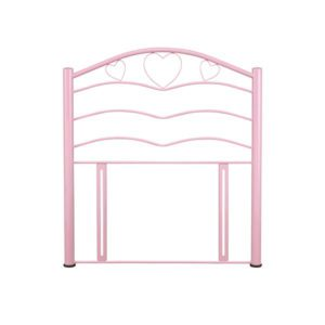 "Sussex Beds - 3'0"" Love Pink Gloss Headboard"