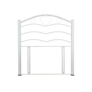 "Sussex Beds - 3'0"" Love White Gloss Headboard"