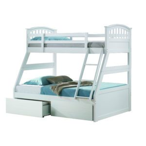 Sussex Beds - Maryland White Triple Bunk