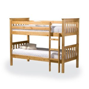 "Sussex Beds - 3'0"" Peacehaven Pine Bunk Bed"