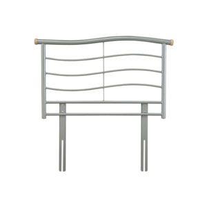 """Sussex Beds - 3'0"""" Rye Silver Headboard"""