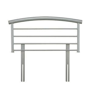 "Sussex Beds - 3'0"" Shar Silver Headboard"