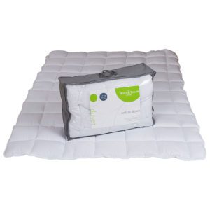 "Sussex Beds - 3'0"" Soft as Down 4.5 Tog Duvet"