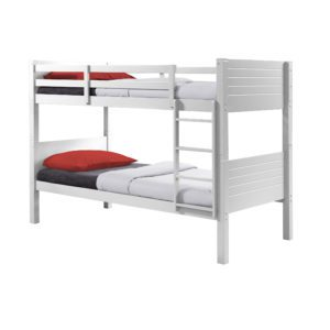 "Sussex Beds - 3'0"" Summerhill White Bunk Bed"