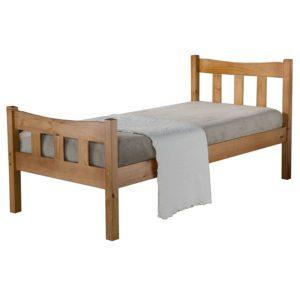 """Sussex Beds - 3'0"""" Telham Pine Bedstead"""