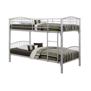 "Sussex Beds - 3'0"" Baltimore Silver Bunk"