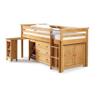 "Sussex Beds - 3'0"" Tucson Pine Cabin Bed"