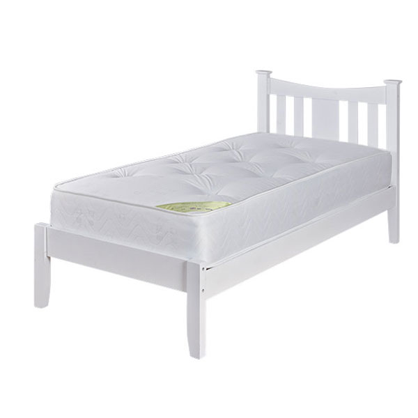"Sussex Beds - 3'0"" Westie White Bedstead"