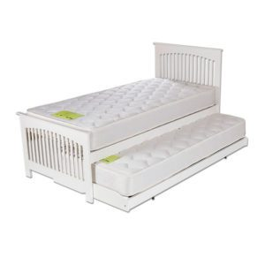 "Sussex Beds - 3'0"" Fairlight White Guest Bed Frames"