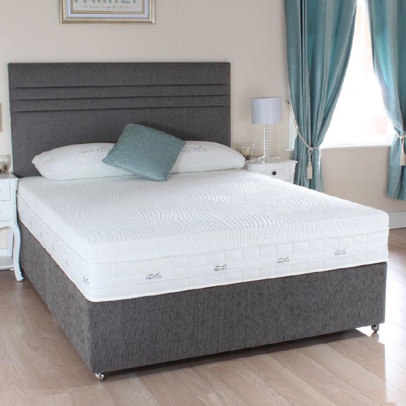4 39 6 Double Nectus Therma Gel 8500 Divan Set Sussex Beds