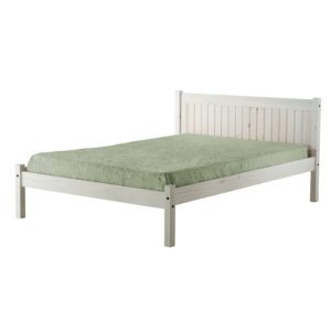 "Sussex Beds - 4'0"" Bowley Whitewash Bedstead"