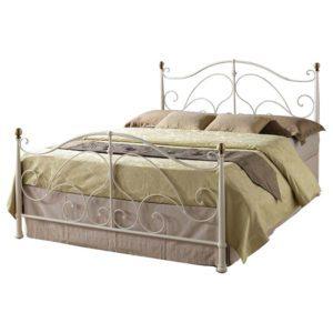 """Sussex Beds - 4'0"""" Holbury Cream Bedstead"""