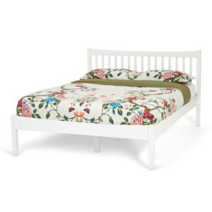 "Sussex Beds - 4'6"" Bedstead - White"