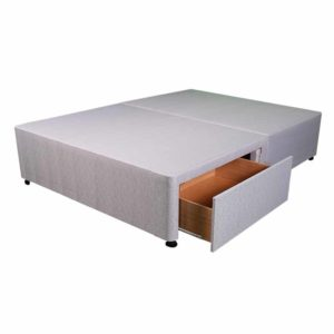 """Sussex Beds - 4'0"""" Small Double Platform Top 2 Drawer Base"""