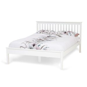 "Sussex Beds - 4'0"" Wickham White Bedstead"