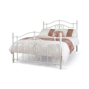 "4'6"" Bedstead - White Gloss"