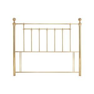 "Sussex Beds - 4'0"" Arundel Brass Headboard"
