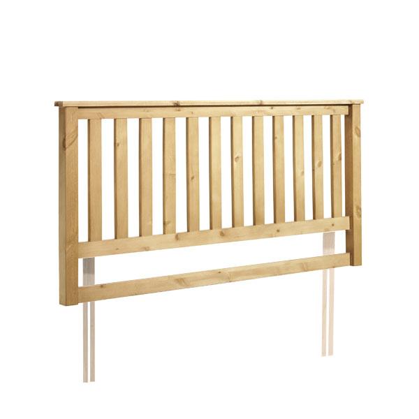"""Sussex Beds - 2'6"""" Barnham Waxed Oak Headboard"""