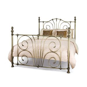 "4'0"" Bedstead - Antique Brass"