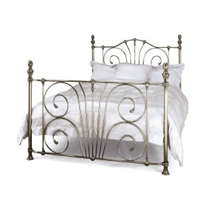 "4'0"" Bedstead - Antique Nickel"