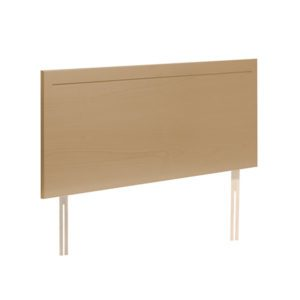 "Sussex Beds - 2'6"" Eartham Light Beech Headboard"