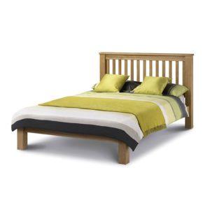 "Sussex Beds - 4'6"" Felbridge Low Footend Oak Bedstead"