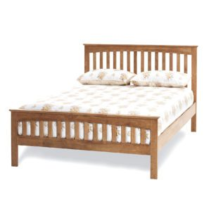 "Sussex Beds - 4'0"" Goodwood Honey Oak Bedstead"