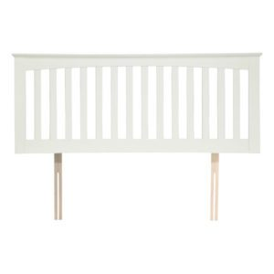 "Sussex Beds - 3'0"" Goodwood Opal White Headboard"