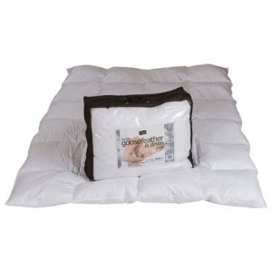 "Sussex Beds - 4'6"" 10.5 Tog Goose Feather and Down Duvet"