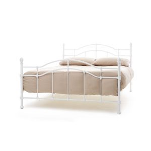 """4'0"""" Bedstead - White"""