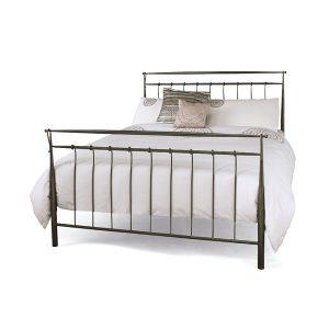 "4'6"" Bedstead - Titanium Grey"