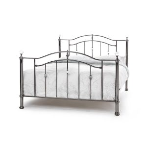 "4'0"" Bedstead - Black Nickel"