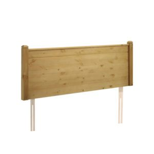 "Sussex Beds - 2'6"" Rusper Rustic Wax Headboard"