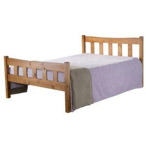 """Sussex Beds - 4'0"""" Telham Pine Bedstead"""