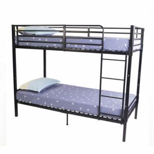"""Sussex Beds - 3'0"""" Single Ashton Grey Bunk Bed"""
