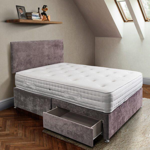 Sussex Beds - Burley 2 Drawer Divan Bed