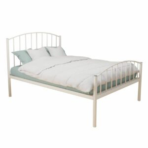 "Sussex Beds - 3'0"" Single Beaminster Ivory HFE Bed Frame"