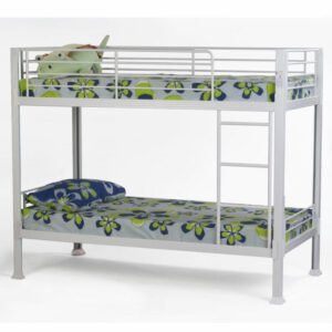 """Sussex Beds - 3'0"""" Single Carterton White Bunk Bed Frame"""