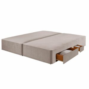"""Sussex Beds - 6'0"""" Super King True Edge 1000 2 Conti + 2 Drawer Base"""